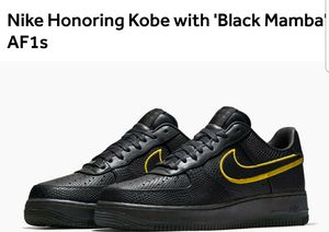 Kobe Bryant Retirement your force ones size 11.5 for Sale in Seattle, WA