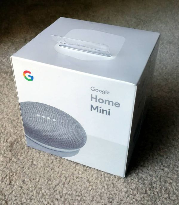 Google Home Mini Chalk White New In Sealed Box For Sale In Portland Or Offerup