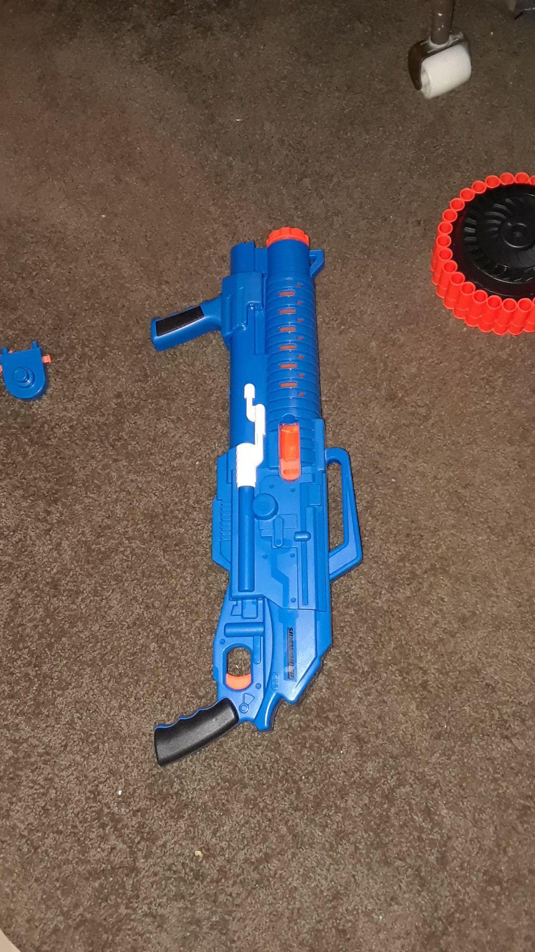Toy mini gun