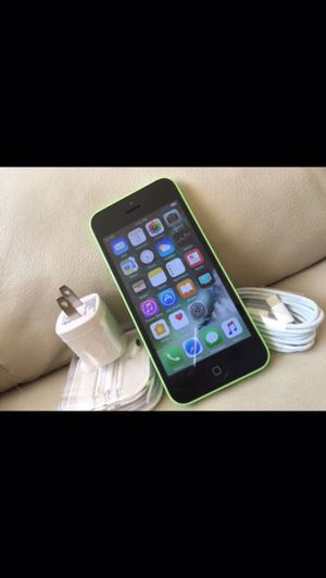 (Green)iPhone 5c ,Factory Unlocked Excellent Condition for Sale in West Springfield, VA