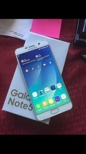 Samsung Galaxy Note 5 Factory Unlocked Excellent Condition,(As Like Almost New) for Sale in West Springfield, VA