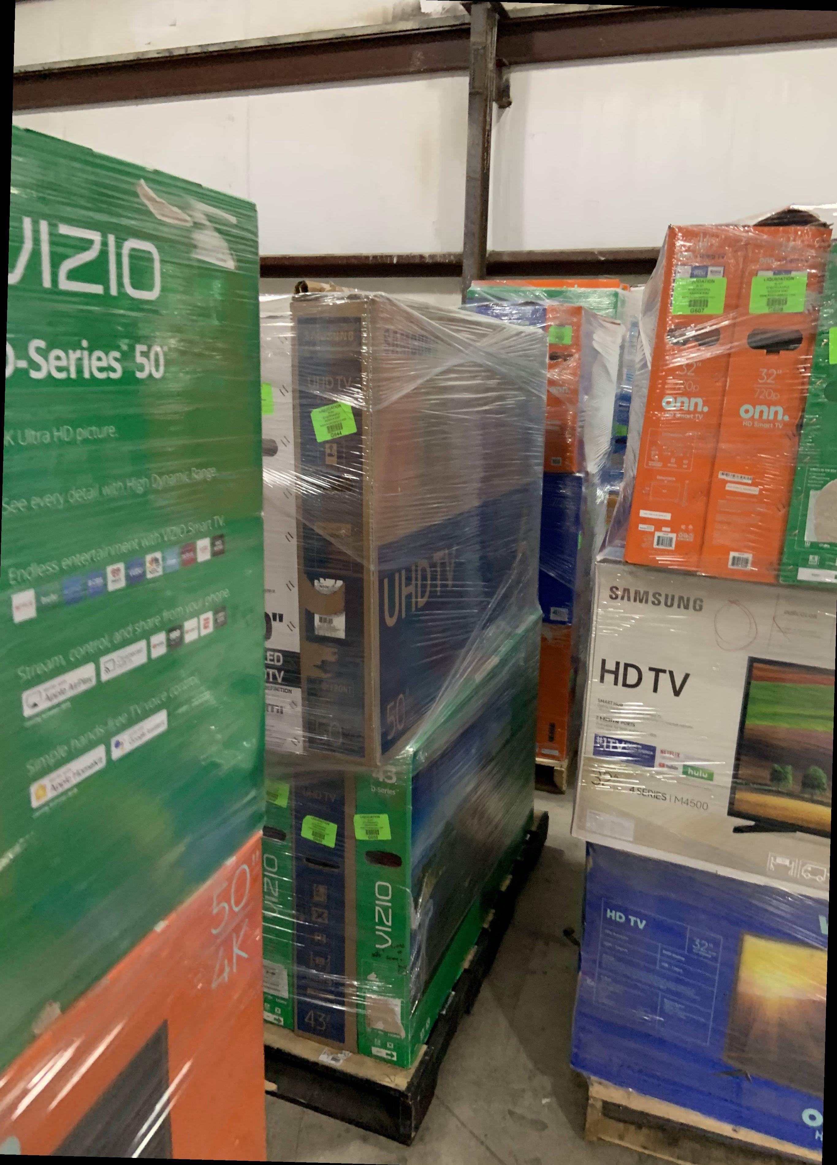 "Brand New Hitachi 50"" TV 4K! Open box w/ warranty N2"