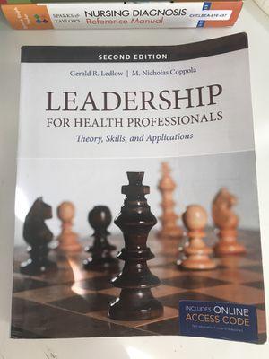 Leadership for health professionals 2 Ed for Sale in Alexandria, VA