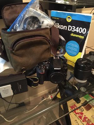 Nikon D3400 for Sale in Las Vegas, NV