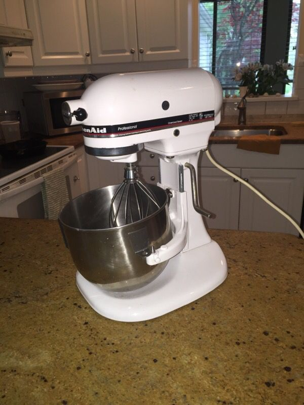 Kitchenaid Professional mixer K5M50P for Sale in Westport, CT - OfferUp