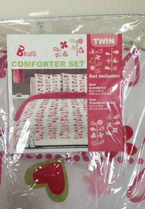 Pink Twin Comforter Set for Sale in Centreville, VA