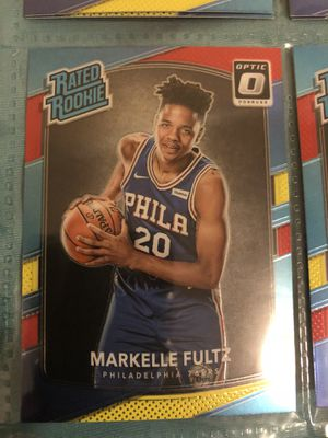 2017-18 Panini Donruss Optic Red & Yellow Rated Rookie Markelle Fultz Holo for Sale in New York, NY