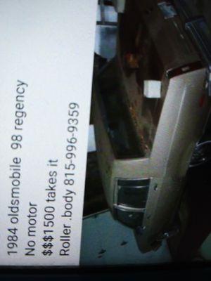 Photo Oldsmobile. 98 Regency $2000