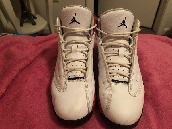 Nike Air Jordan 13 Retro BG White Black True Red Cool Grey for Sale in  Irving 121fb06b8