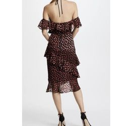 Alice & Olivia New With Tags! sexy off the shoulder dress Thumbnail