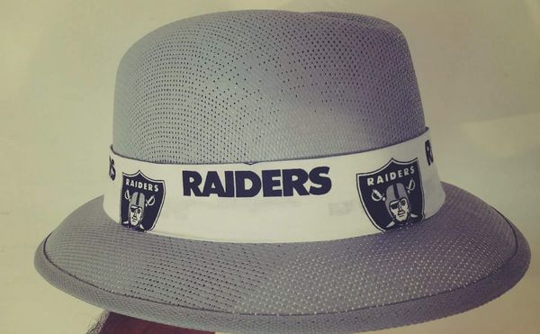 Raiders Hats Pachuco Style custom made brims Fedora for Sale in ... 6262d247c96