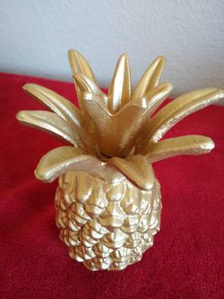 Brand New Small Cast Iron Pineapple (4x7) 👉🏻 Please Read Description 👀 Thumbnail