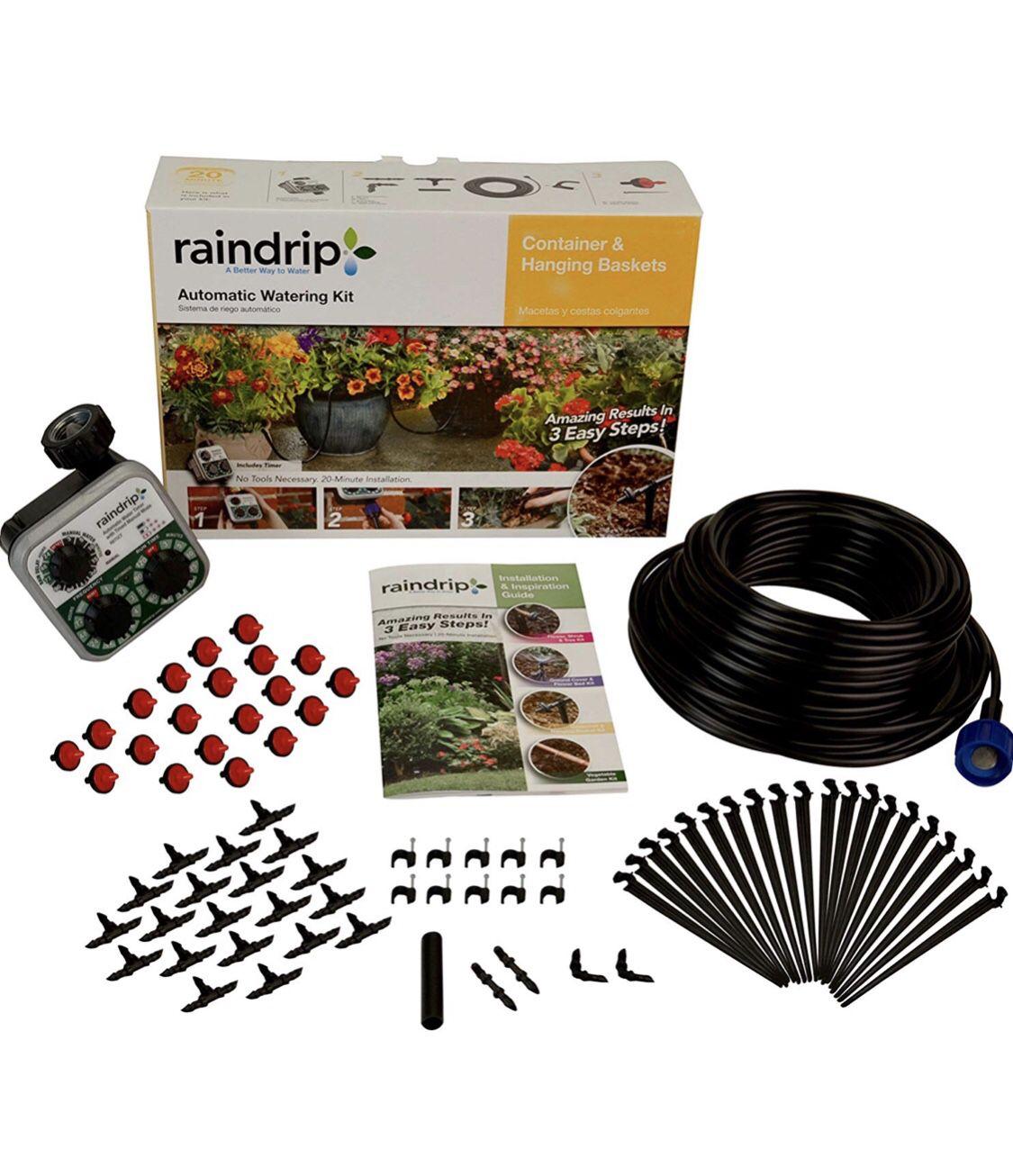 Raindrip irrigation