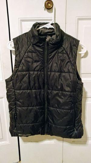 Photo Columbia Titanium Tech Interchange Womens Medium Black Down Vest Jacket