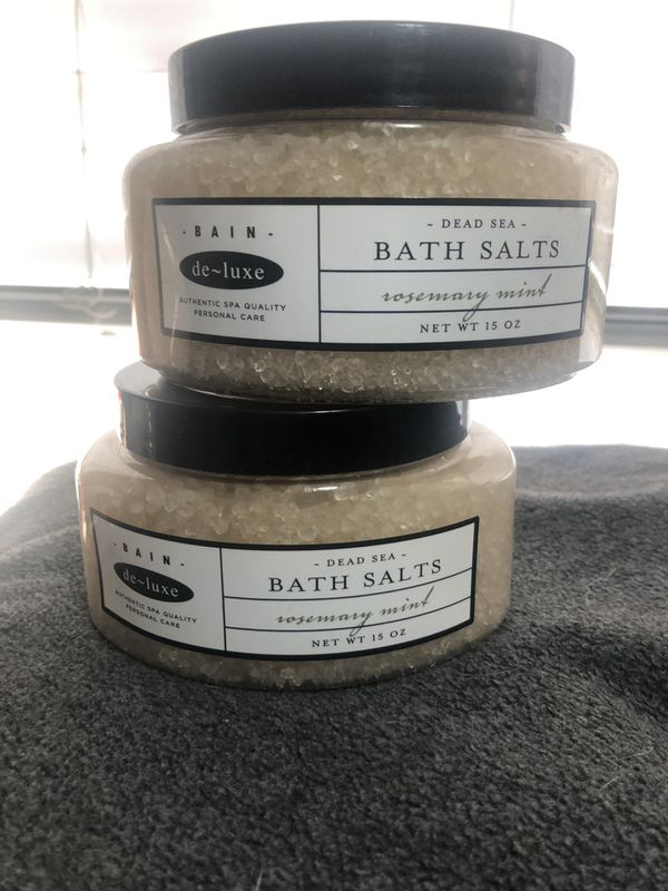 BAIN DE-LUXE DEAD SEA ROSEMARY MINT BATH SALTS for Sale in Charlotte ...