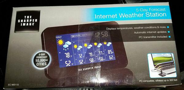 Top 100 Sharper Image 5 Day Forecast Internet Weather Station