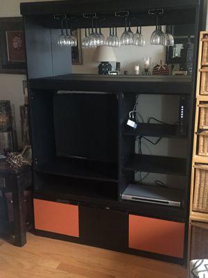 Tv wine holder for Sale in Reston, VA