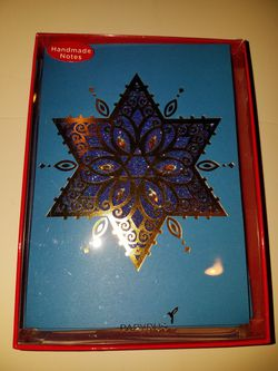 8 Handmade notes 8 lined Envelopes holiday cards Thumbnail