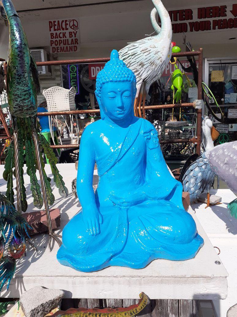 Large Blue Buddha statue