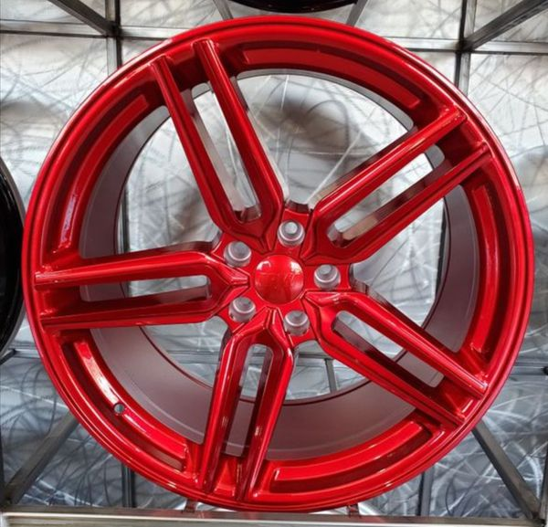 20x9 And 20x10 Red Wheels Fits Mustang For Sale In