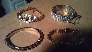 4 bracelet's for Sale in New Canton, VA