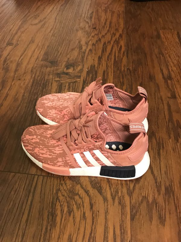 9bcd4a952 Adidas NMD R1 RAW PINK GLITCH (W) size 6 for Sale in San Jose