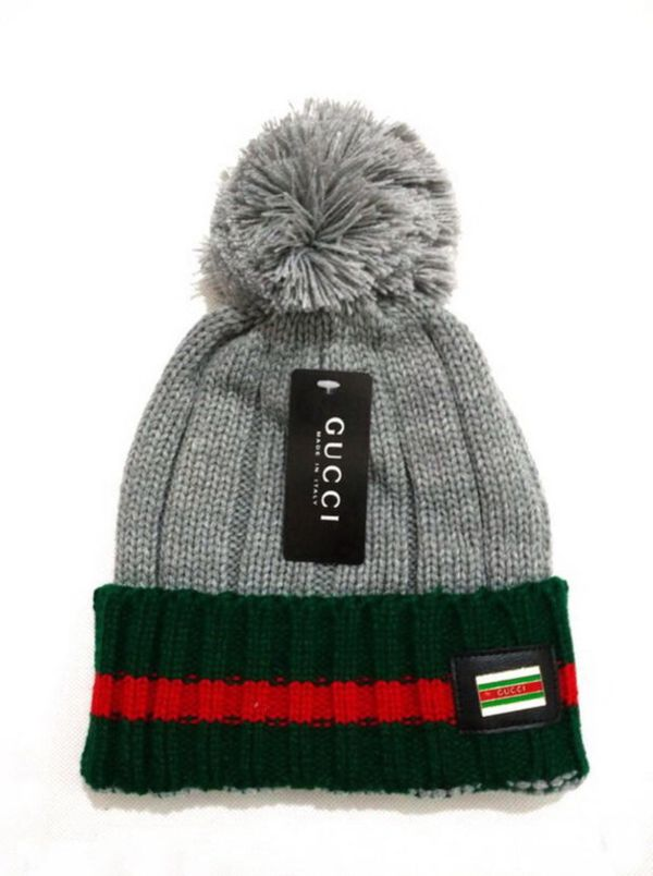 Perfect Gucci Woman Men Embroidery Beanies Knit Hat warm woolen Hat ... 9117ed7b14