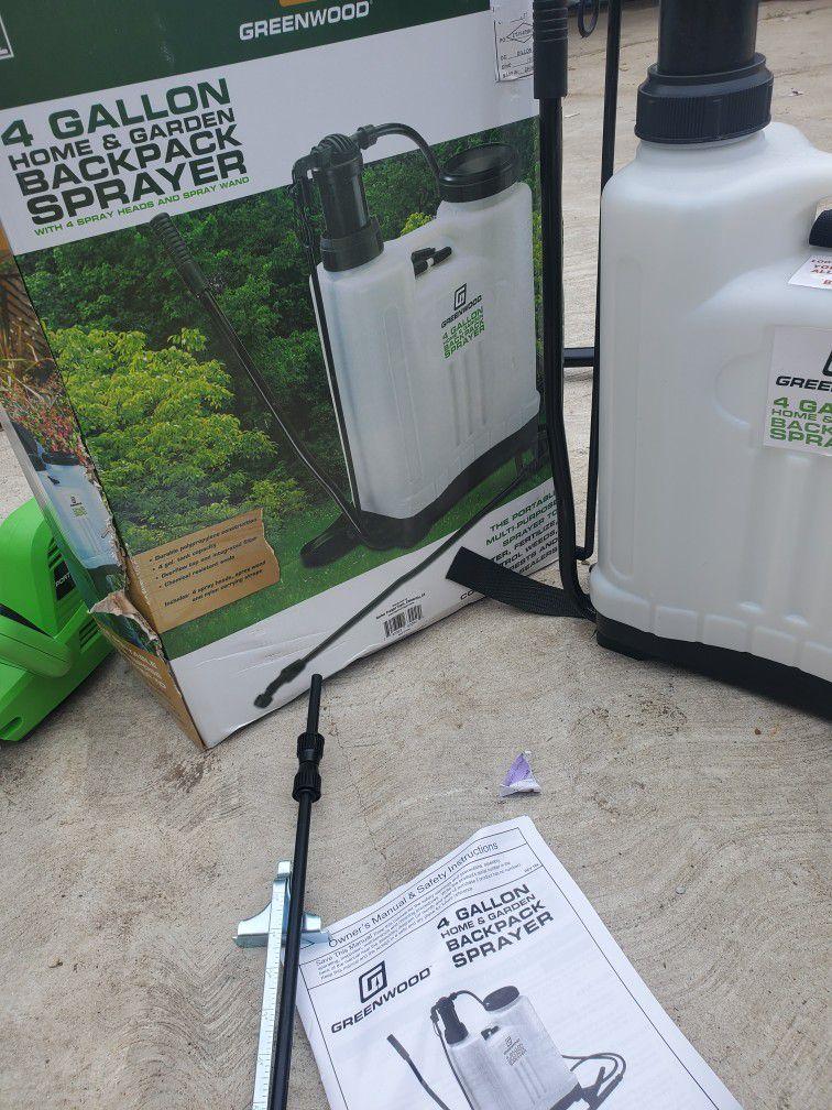 Greenwood 4 Gallon Backpack Sprayer