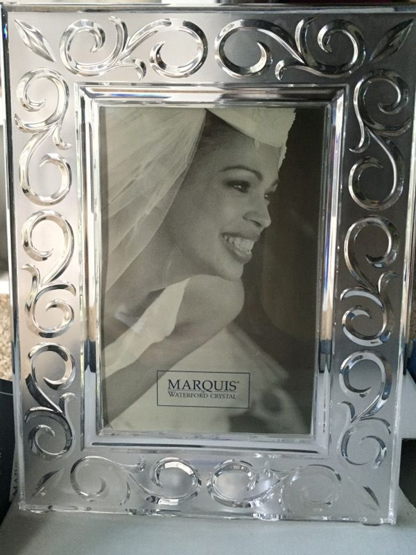 Marquis Waterford Crystal 4x6 Picture Frame For Sale In Grand Blanc