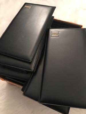 Black Checkbooks for Sale in New York, NY