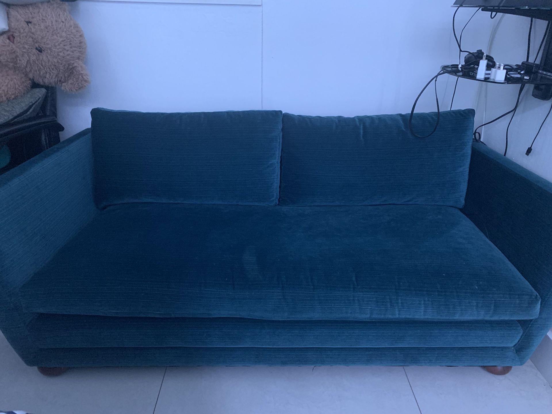 Jonathan Adler loveseat couch