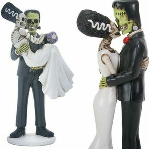 Frankenstein Wedding Cake Topper or Anniversary Collectable for Sale in St Louis, MO