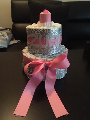 Diaper Cake for Sale in Baltimore, MD