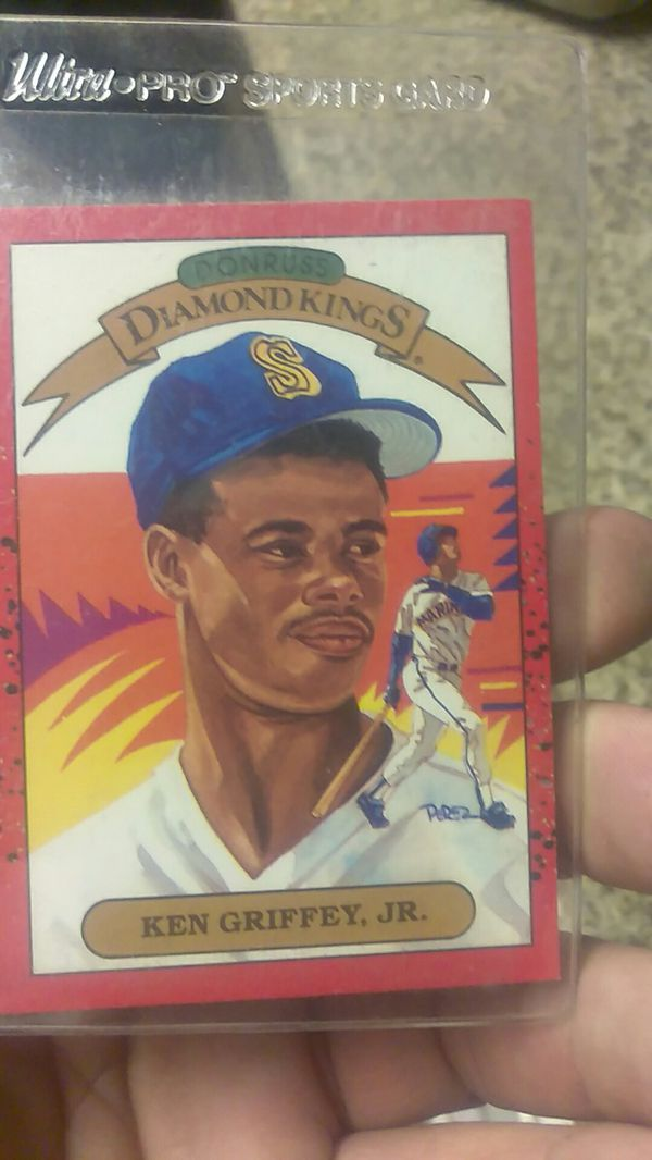 Donruss Diamond Kings Ken Griffey Jr Rookie Card For Sale In Las Vegas Nv Offerup