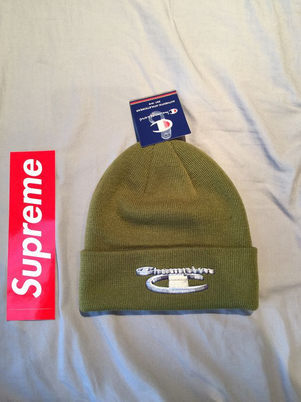 3e05234246688 Supreme x Champion Beanie for Sale in Los Angeles