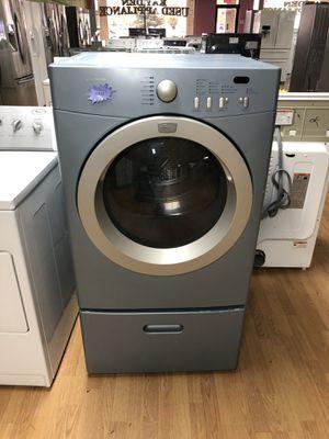 Blue Frigidaire Dryer w/Pedestal for Sale in Woodbridge, VA