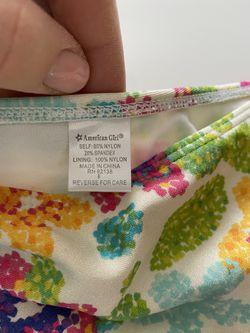 American Girl Swimming Panties 🩲 Kids Size 8 Thumbnail