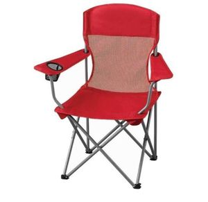 Ozark Trail Basic Mesh Folding Camp Chair with Cup Holder red color j15-2161 for Sale in St. Louis, MO
