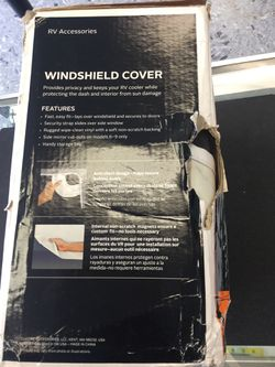 RV Accessories Windshield Cover Thumbnail