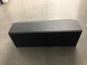 Polk audio center channel speaker for Sale in Baltimore, MD