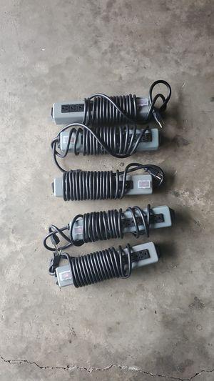 Photo Industrial heavy duty power strips