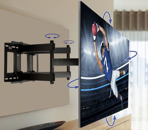 New tv wall mounts flat tilt and full motion swivel PROFESSIONAL INSTALLATION AT LOW PRICE for Sale in Oxon Hill, MD