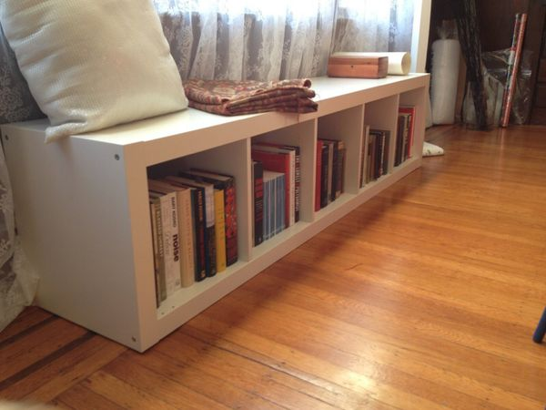 White Ikea Expedit Bookcase 1x5 For Sale In San Diego Ca Offerup