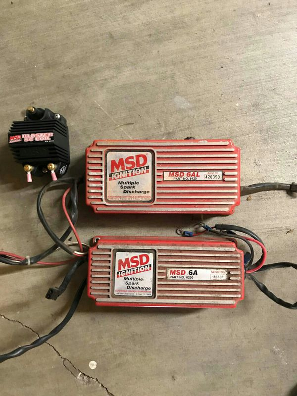 Msd ignition box and distributer for SBC for Sale in San Jose, CA - OfferUp