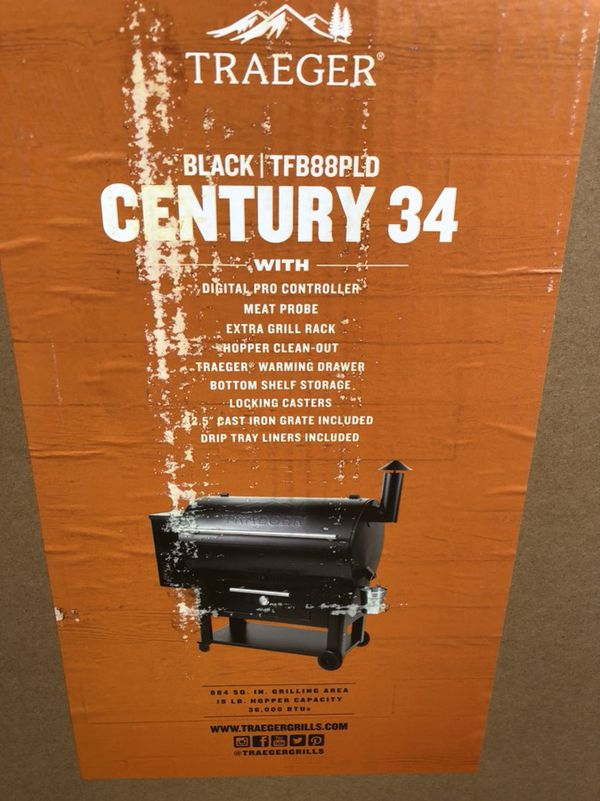 Traeger Century 34 Pellet Grill Smoker New in Box for Sale in Burleson, TX  - OfferUp