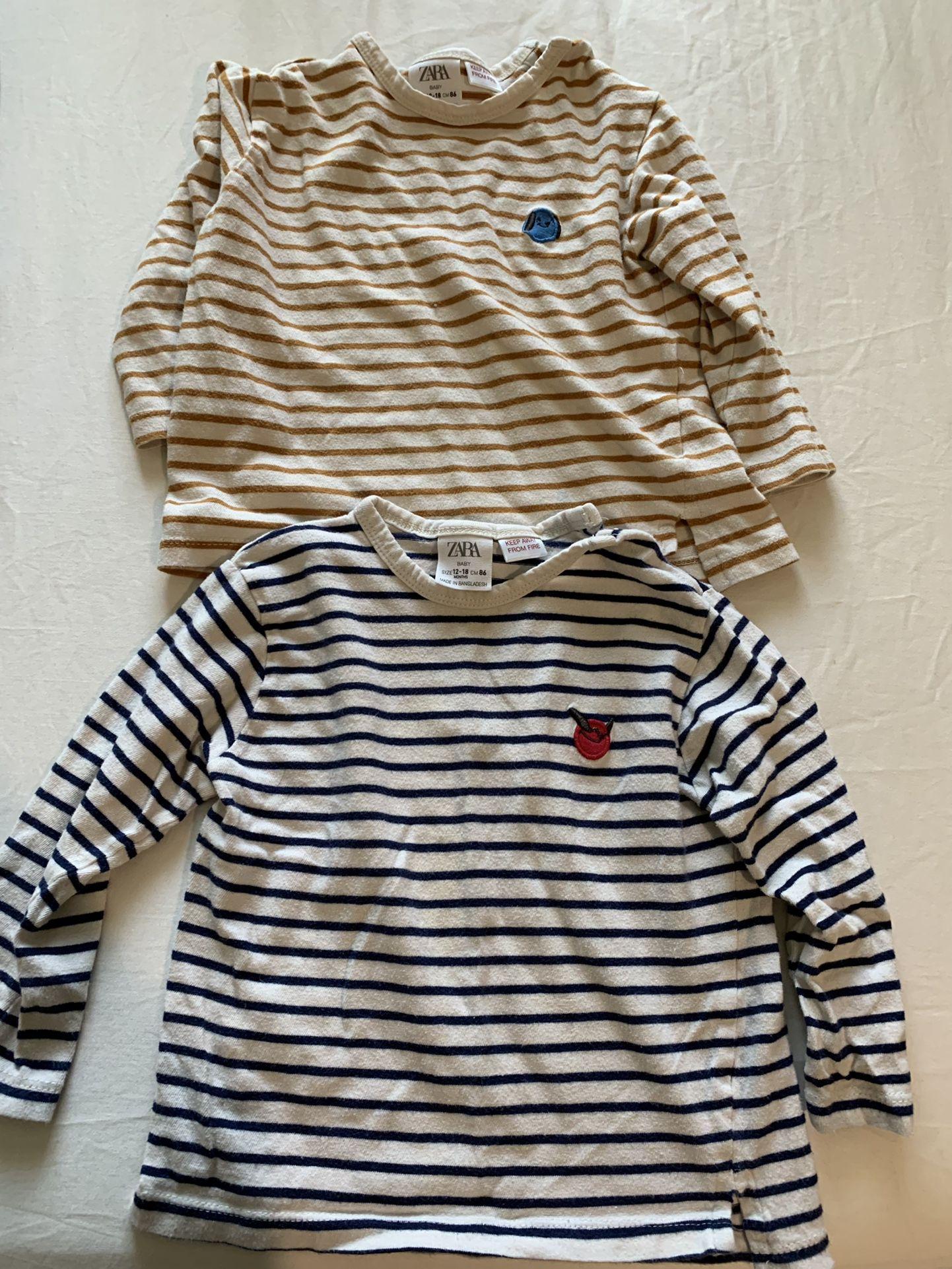 Zara Baby Shirts 12-18m