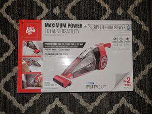 Dirt Devil FlipOut 16-Volt Lithium-Powered Cordless Handheld Vacuum Cleaner for Sale in Annandale, VA