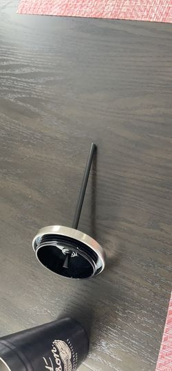Harley Davidson stainless steel cup with straw Thumbnail