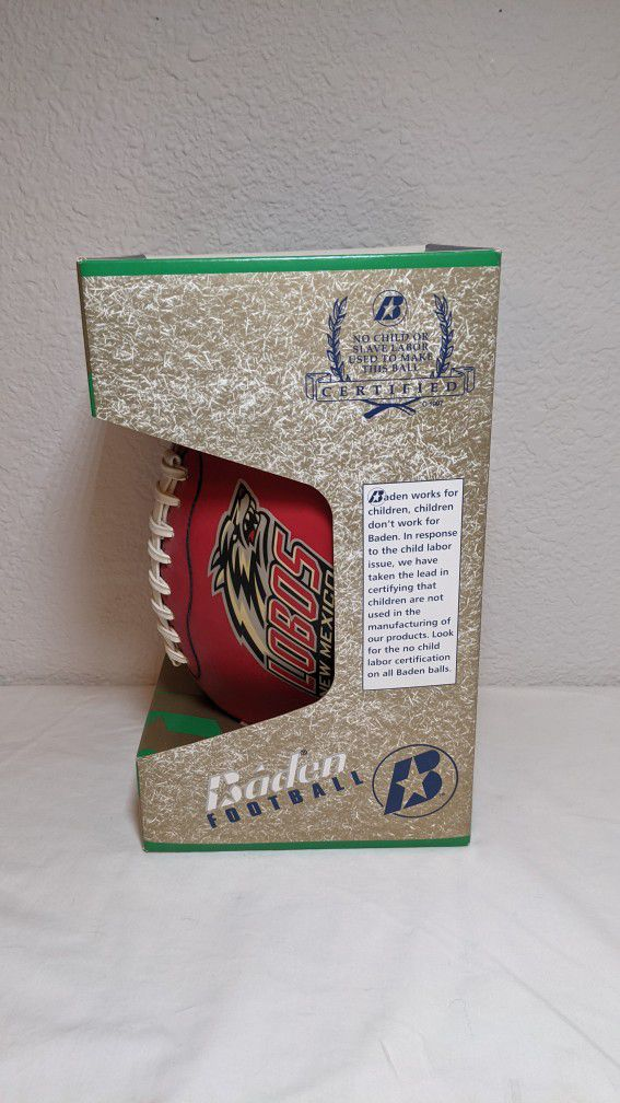 Brian Urlacher Autographed Football with 12 Inch NFL Figure