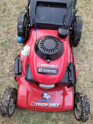 Troy Bilt Tb240 160cc 21 Self Propelled Gas Lawn Mower With Honda Engine